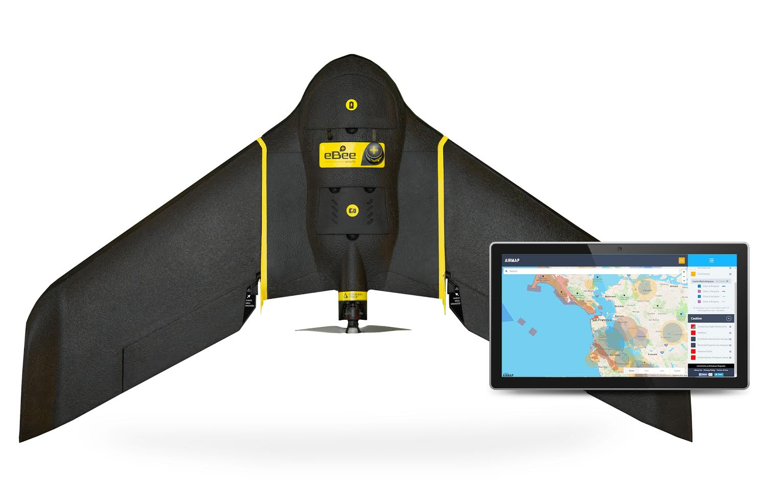 senseFly and AirMap Partner to Advance Safety for Commercial Drones