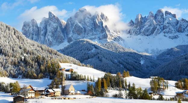 Hotel Italia: cresce il Turismo in Montagna,  soprattutto quello internazionale (46,3%)