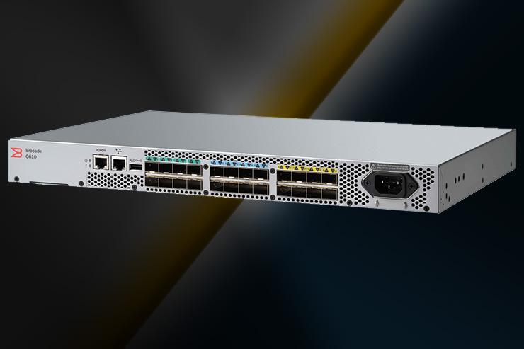 Brocade annuncia Brocade® G610, lo switch senza compromessi per la connettività always-on dei data center all-flash