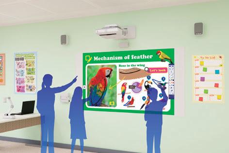 Epson presenta uno studio che dimostra l'importanza delle dimensioni dello schermo in classe
