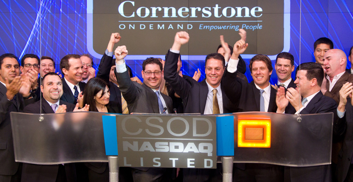 Cornerstone OnDemand: un anno di successi