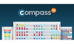 Il nuovo cruscotto per l'analisi dei KPI del MES Compass 10