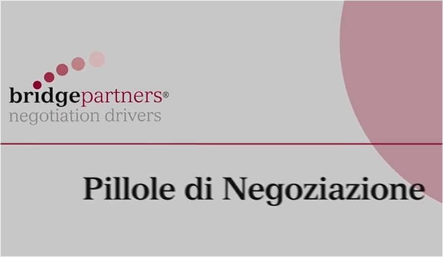 Pillole di Negoziazione #6: il dialogo