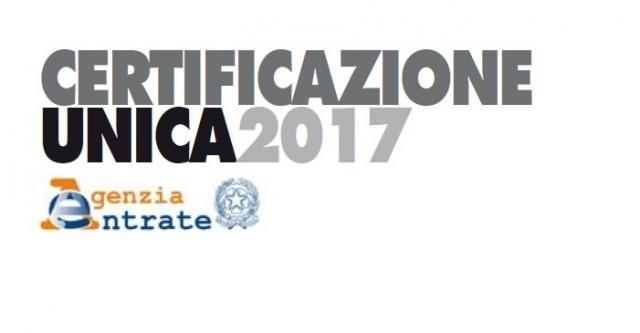 Certificazione Unica, tutte le novità del 2017