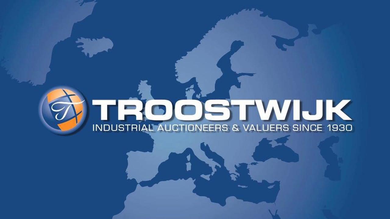 Il più grande grader del mondo all'asta con Troostwijk