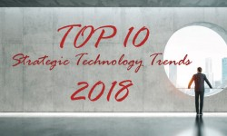 Top 10 Strategic Technology Trends per il 2018
