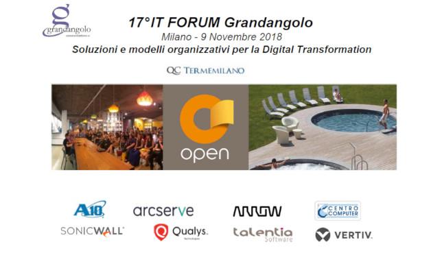 Il cloud si conferma pilastro centrale per la trasformazione digitale. Aziende a confronto al 17° IT Forum di Grandangolo