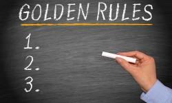 Esistono le regole d'oro per … ?