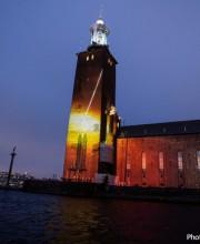 PANASONIC supporta la  cerimonia dei Premi Nobel a Stoccolma con uno spettacolare mapping