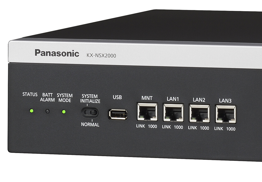 Panasonic presenta il nuovo server per le comunicazioni aziendali KX-NSX