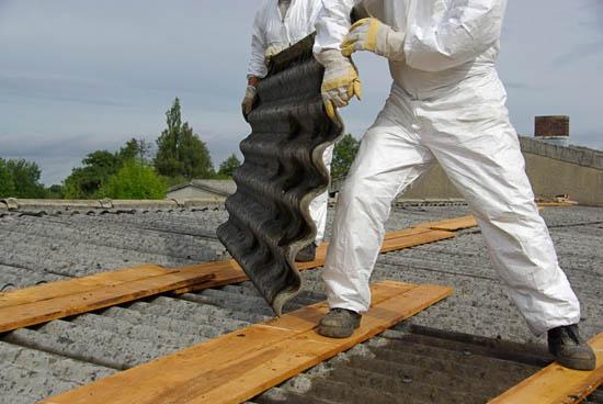 Benefici per la rimozione dell'amianto