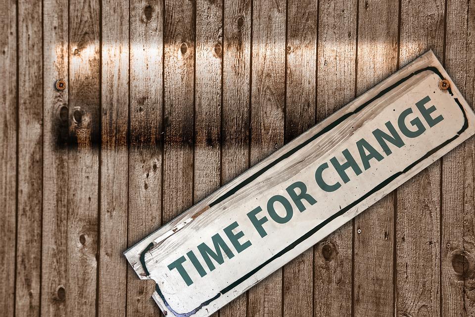 I cambiamenti fanno paura: impariamo a non nasconderci